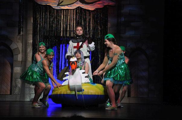 Stück: Spamalot, E.T.A. Hoffmann Theater