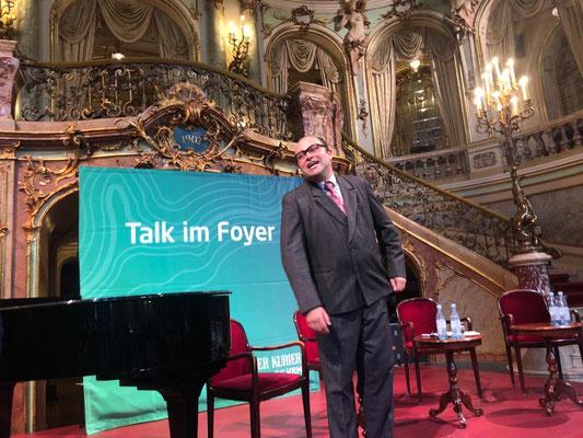 Talk im Foyer als Heinz Erhardt, Wiesbadener Staatstheater
