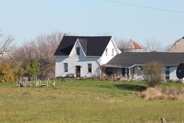 Das Dagg-Haus heute. Bildquelle: psican.org #poltergeist #shawville #Dagg #paranormal #ghost