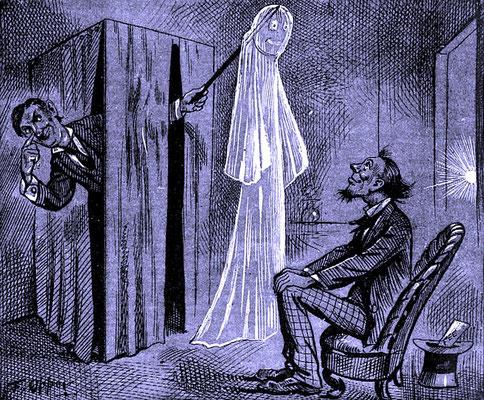 #Kabinett #Medium #Spiritismus #paranormal