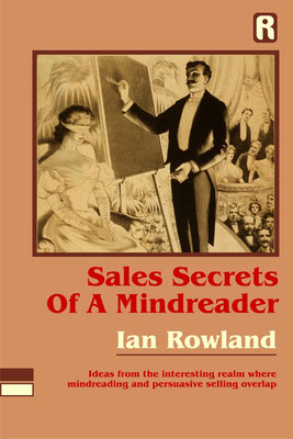 Sales Secrets of a Mind Reader, Autor Ian Rowland. #ColdReading #Medium #Spiritismus #paranormal