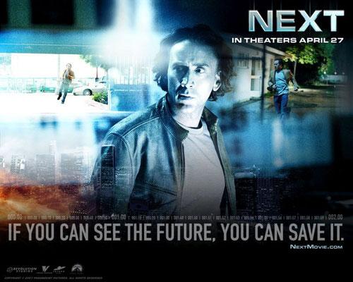 Nicolas Cage kann in 'Next' (2007) für zwei Minuten in seine eigene Zukunft sehen. #präkognition #wahrnehmung #paranormal