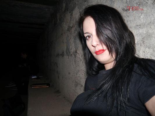 Dieses Foto schoss Sandrina, während ihres ungewöhnlichen Erlebnisses