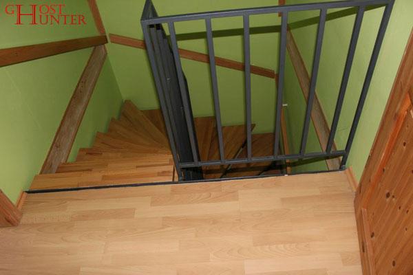 Blick von oben auf die Treppen. #ghosthunters #paranormal #ghost #geist #spuk
