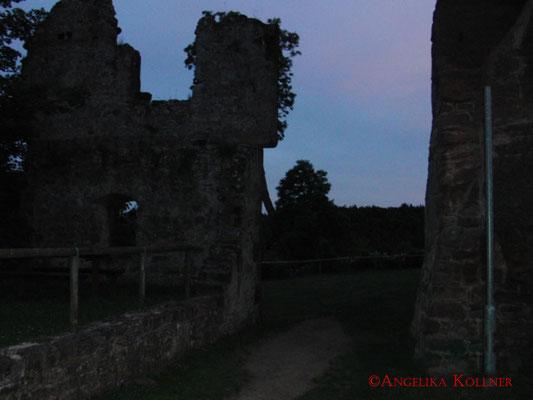 Über diesen Weg kam man vom Basislager aus ins 'Innere' der Burg #Hohenecken. #Ghosthunters #paranormal