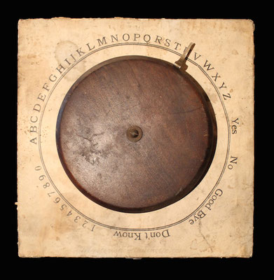 Psychograph (um 1880), Bildquelle: MysteriousPlanchette.com #Ouija #Medium #Spiritismus #Parapsychologie #paranormal