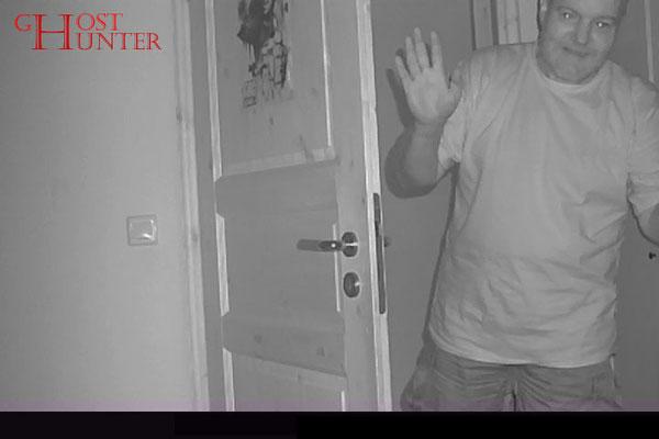 Hier wieder eines unserer Posing-Fotos nur für die Fotofalle. Diesmal war es Alexander. #Ghosthunters #paranormal #ghost #geist