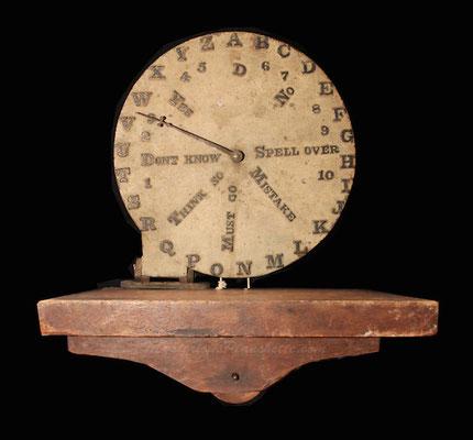 Spiritoscope (1855), Bildquelle: MysteriousPlanchette.com #Ouija #Medium #Spiritismus #Parapsychologie #paranormal