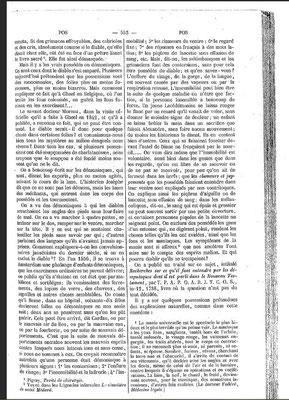 4. Seite des Dictionnaire Infernal mit einer Zozo-Erwähnung. Hier handelt es sich um den Bericht des angeblich besessenen Mädchens. #Zozo #Ouija #Medium #Spiritismus #paranormal