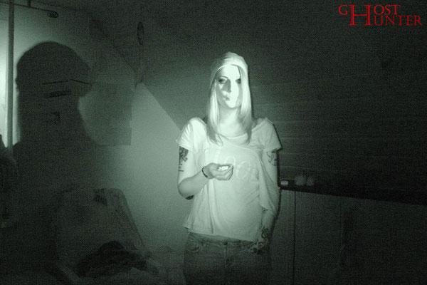 Sandrina während der ersten ESP-Sitzung. #ghosthunters #paranormal #geist #ghost #spuk