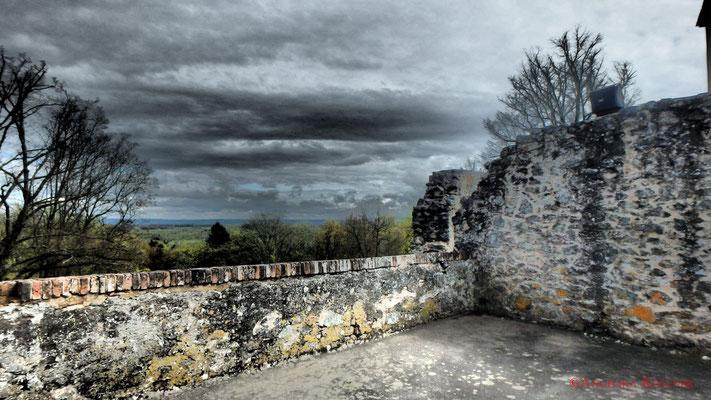 Ausblick von der Burg. #Frankenstein #ghosthunters #paranormal