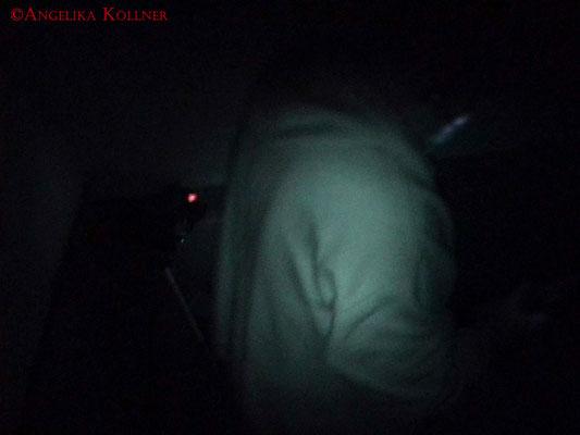 Aufbau des Schattenphänomentests auf der Treppe zwischen 1. und 2. OG. #Ghosthunter #Geisterjäger #paranormal #Ghost