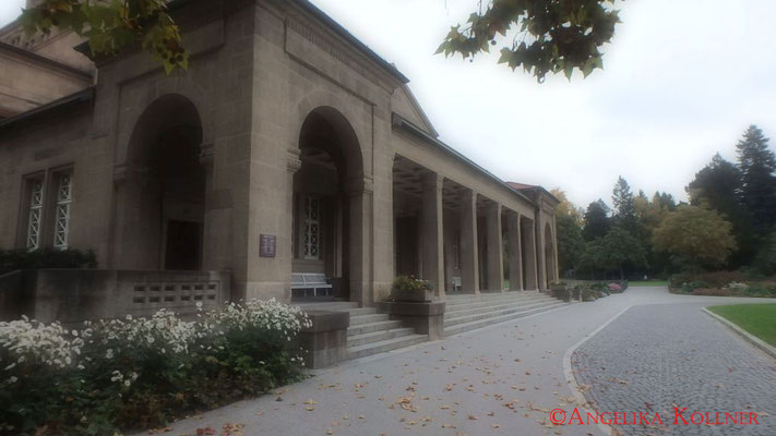 Trauerhalle Frankfurt am Main #Friedhof #Frankfurt #ghosthunters
