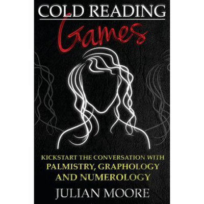 Cold Reading Games, Autor Julian Moore. #ColdReading #Medium #Spiritismus #paranormal