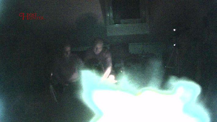 Eine leuchtende Gestalt vor der ActionCam. Ein paranormales Phänomen?