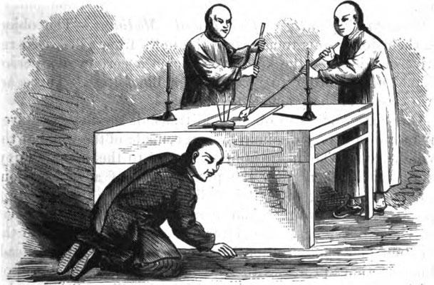 Fuji-Technik, Bildquelle http://www.paranormalgenealogist.com #Ouija #Medium #Spiritismus #paranormal