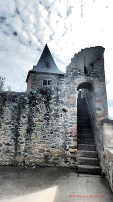 Aufgang zum Turm. #Frankenstein #ghosthunters #paranormal