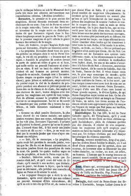 5. und letzte Seite des Dictionnaire Infernal mit einer Zozo Erwähnung. #Zozo #Ouija #Medium #Spiritismus #paranormal