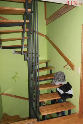 Treppe zum 2. OG. #ghosthunters #paranormal #ghost #geist #spuk