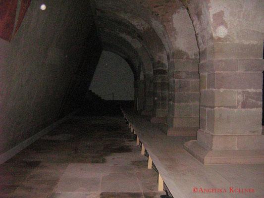 Hier kann man sehen, wie groß der Raum ist. #Zitadelle #Bitche #Ghosthunters #paranormal