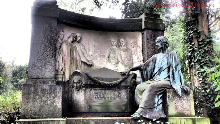 22 #Hauptfriedhof Frankfurt #Grabstein #Grabmal #Ghosthunters