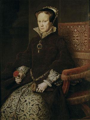 Maria_Tudor1By Antonis Mor - Museo del Prado Catalog no. P02108 [2], Public Domain