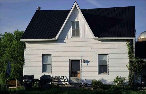 Das Dagg-Haus heute, Nahansicht. Bildquelle: Fortean Times #shawville #Dagg #paranormal #ghost