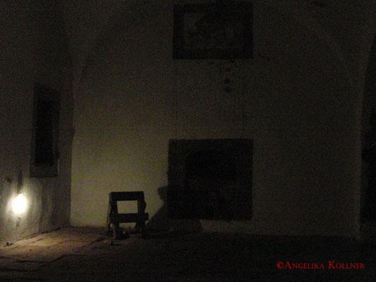 Hier in diesem Raum machte Nicole ihren Wahrnehmungstest. #Zitadelle #Bitche #Ghosthunters #paranormal