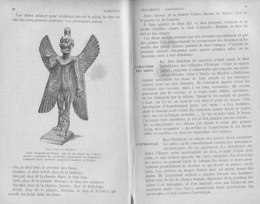 Eine Seite in Malets Buch mit einer Abbildung von Pazuzu. #Zozo #Ouija #Medium #Spiritismus #paranormal