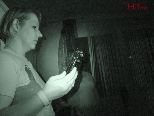 Fortführung der ESP-Sitzung. #Ghosthunter #paranormal #EVP #Geist
