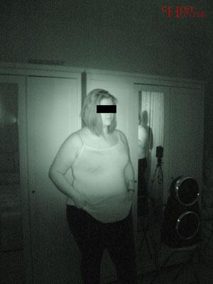 N., die Klientin, während der ESP-Sitzung. #Ghosthunter #paranormal #EVP #Geist