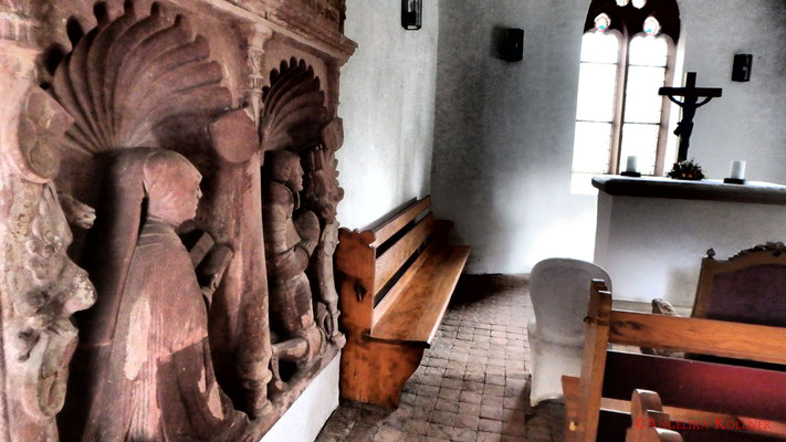 Innenraum der Kapelle, linke Seite. #Frankenstein #ghosthunters #paranormal