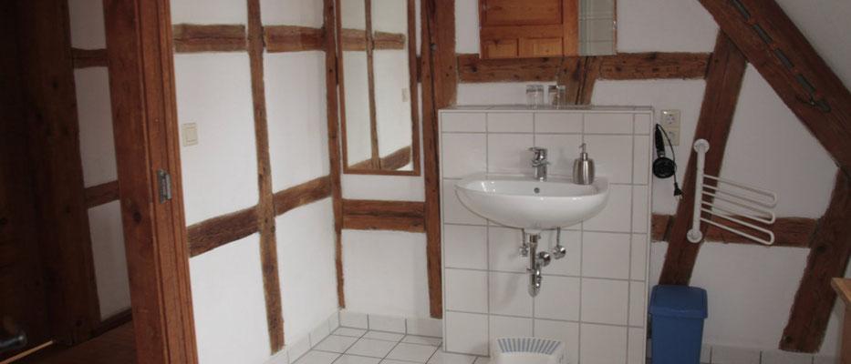 Wohnung Lärche - Bad