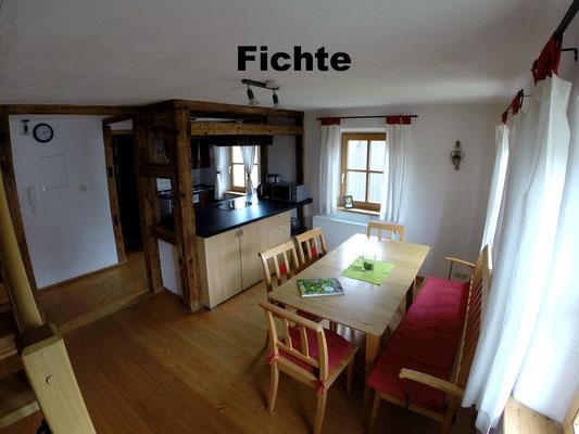 Wohnung Fichte Essen und Küche