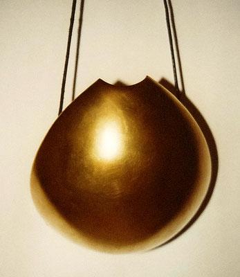 Saug-Variante zum Umhängen in Gold