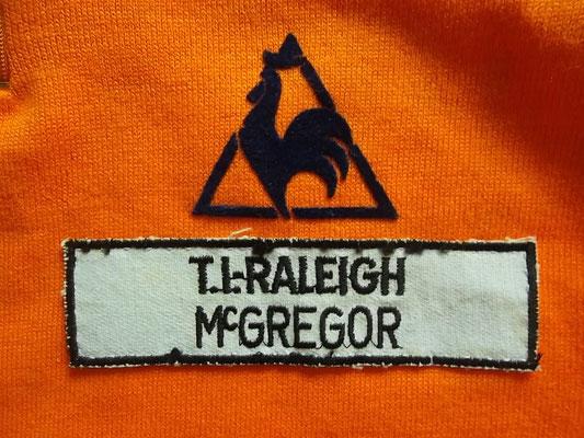 IT Raleigh Mcregor koerstrui Johan van der Velde