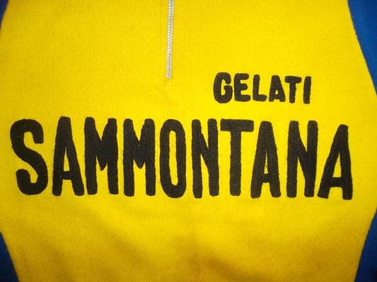 maglia Sammontana gelati lana vintage Giro de Italia