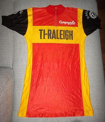TI Raleigh wielershirt van Roy Schuiten
