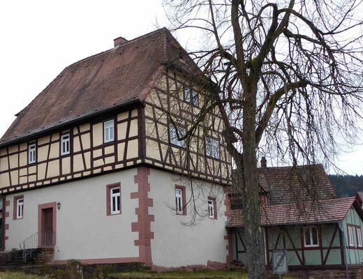 Außenfassade Fachwerkhaus