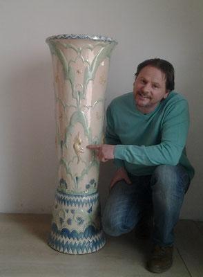 Vase, Otto Prutscher
