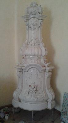 Antiker Ofen, Barock Rokoko