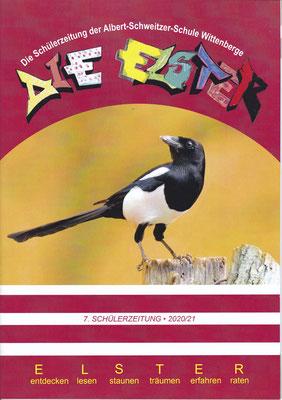 Titelseite der Schülerzeitung Elster | Albert-Schweitzer-Schule Wittenberge