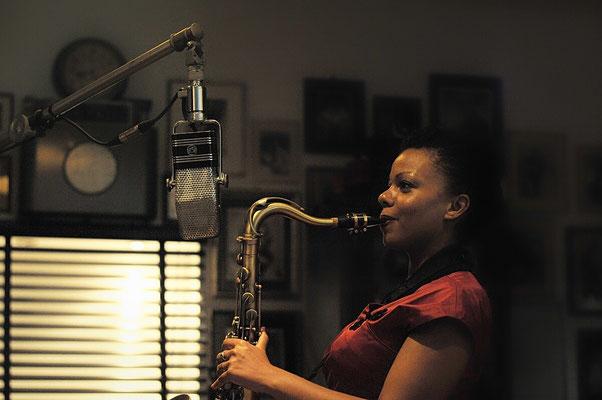 Live-Saxophon-Performance