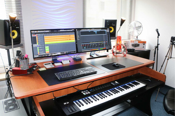 Recording PC mit Digital Audio Workstation (DAW)
