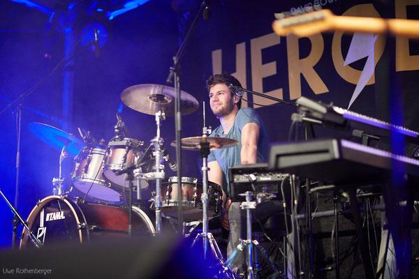 Live Drum Coaching mit Jonas