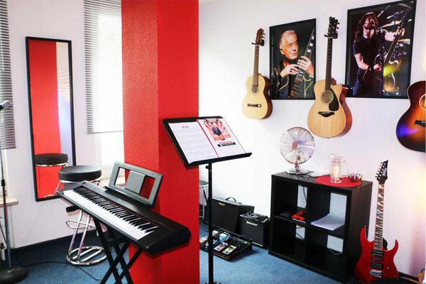 Klavierunterricht in der Bayreuther Straße