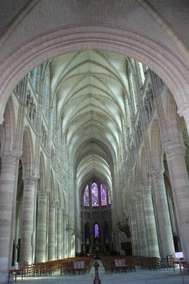 intérerieu de la Cathédrale de Soissons
