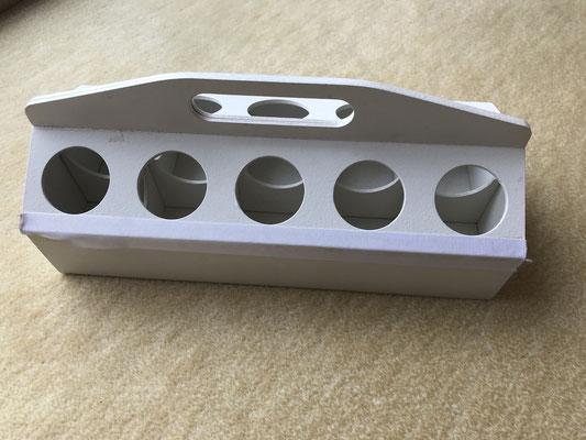 schlaubatz Sammelkiste: Zweites Modell aus Holz.