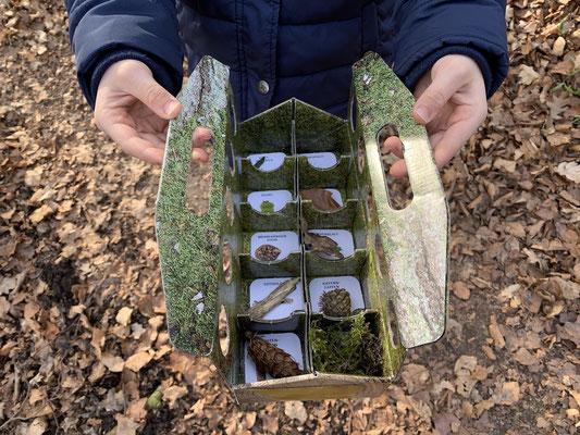 Auf Schnitzeljagd in der Natur mit der schlaubatz Sammelkiste - na, was hast du schon gefunden?