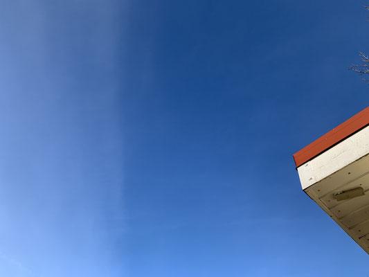 Foto-Safari: Dachecke vor Himmel